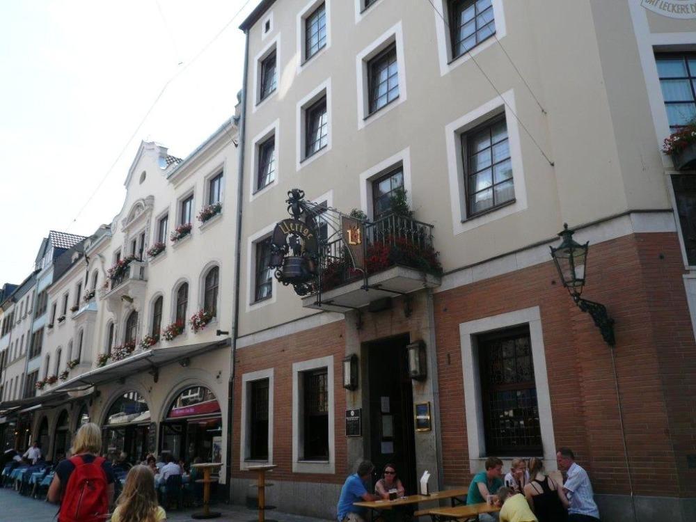 Старый город (Альтштадт) Дюссельдорф, туризм и отдых в Германии