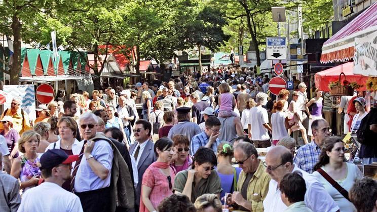 Фестиваль в Германии Киль